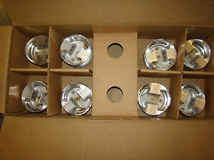 FORD NASCAR YATES SVO 4.062 1.265 CH JE REVERSE DOME PISTONS & RINGS