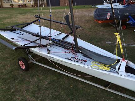 Musto Performance Skiff ready to sail
