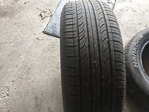 2x 195/55/15 Hankook Optimo Tires