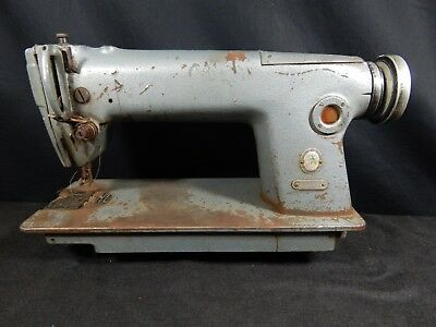 Singer 228 Industrial Commercial Tacker Stitch Sewing Machine Vintage