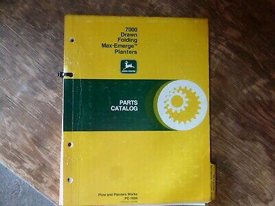 John Deere Planter 7000 Owner S Guide To Business And