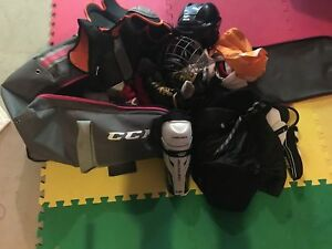Used Hockey Gear-Complete bag, stick everything