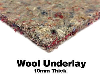 10mm Thick Carpet Underlay Superb Heat Insulation