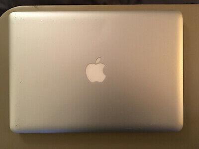 "Apple MacBook Pro 2010 13"" 2.4 GHz 8 GB memory 240 GB SSD hard drive"