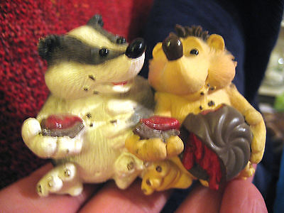 COLLECTIBLE 1994 EDWARD J.HOGG & FREINDS COLLECTION HEDGEHOG FIGURE/ORNAMENT UUU