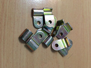 3/16 BRAKE PIPE CHASSIS MOUNT CLIPS 10 PACK - BUNDY TUBE