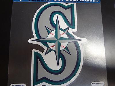 Seattle Mariners Die Cut Decal (Seattle Mariners Colored Window Die Cut Decal Wincraft Sticker 8x8)