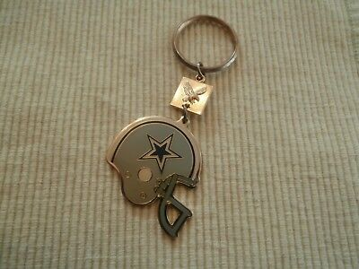 NFL 1988 RJRT Dallas Cowboys Football Helmet Keyring / Keychain