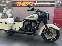 Indian SPINGFIELD DARKHORSE 1811cc BRAND NEW,SMOKE WHITE,WAS £22349 NOW £20949