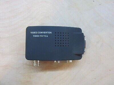 High Resolution Vga Video (High Resolution Video VGA Conversion 15 Pin VGA to Video & S-video Converter)
