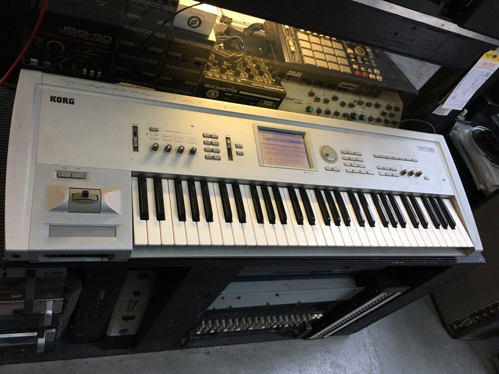 korg triton keyboard ebay
