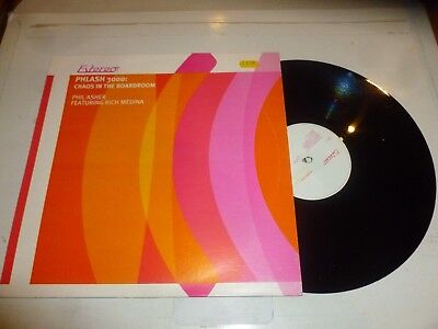 """PHLASH 3000 - Chaos in the Boardroom - Phil Asher feat RICH MEDINA - UK 12"""" Viny"""
