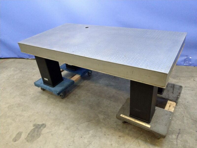 "Vere  68"" x 35"" x 5"" NRC Stainless Optical Breadboard Test Table"