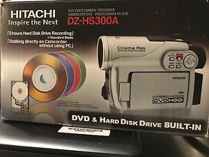 HITACHI DVD & HD HYBRID CAMERA CamCorder