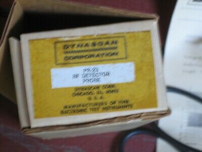 Dynascan Rf Detector Probe Nos Pr-23