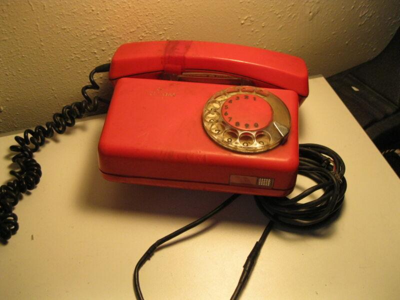 Vintage USSR Soviet Union CCCP telephone rotary dial unique Telkom