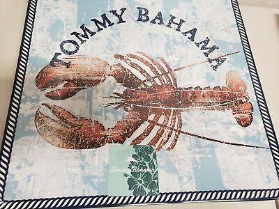 16' Large Square Platter - Tommy Bahama Lobster  Theme Melamine Large 16