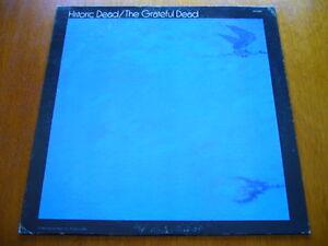 GRATEFUL-DEAD-Historic-Dead-WEST-COAST-ROCK-SUNFLOWER-SUN-5004-ORIG-LP-DJ-PROMO
