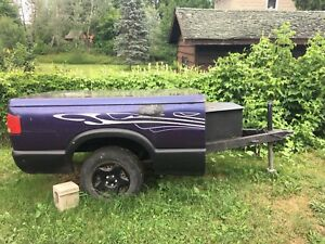 Hunters trailer. 5 1/2 w x 10 feet depth