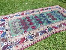Deep wine red vintage/antique hand-knotted Persian runner/rug Drummoyne Canada Bay Area Preview