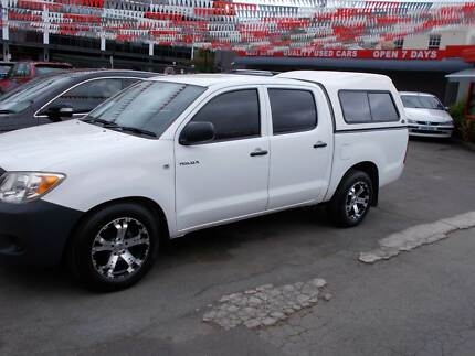 2005 Toyota Hilux Ute Braddon North Canberra Preview