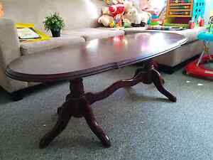 Wooden Coffee table and Bedside table Homebush Strathfield Area Preview