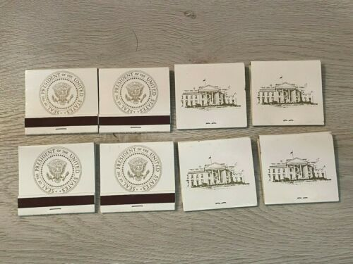 Authentic matchbooks from the White House (pre-1973 era)