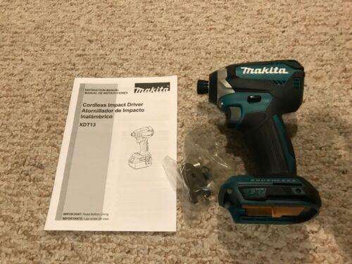 New Makita Brushless Cordless Impact Driver XDT13Z 18V Repla