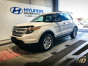 FORD EXPLORER XLT AWD + TOIT + NAVI + MAGS + MYLINK + WOW !