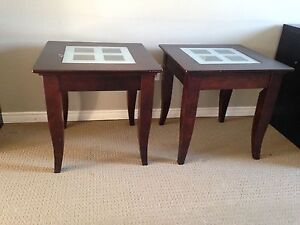 Hand made end tables. 50 obo