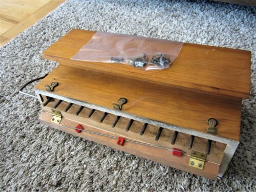 13 Antique Brass Sub Base Mechanism Box Reed Pump Parlor Organ Victorian Parts
