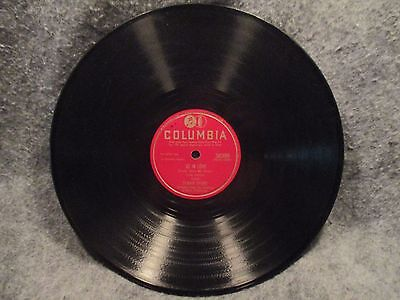 "78 RPM 10"" Record Dinah Shore Always True To You In My Fashion Columbia 38399"