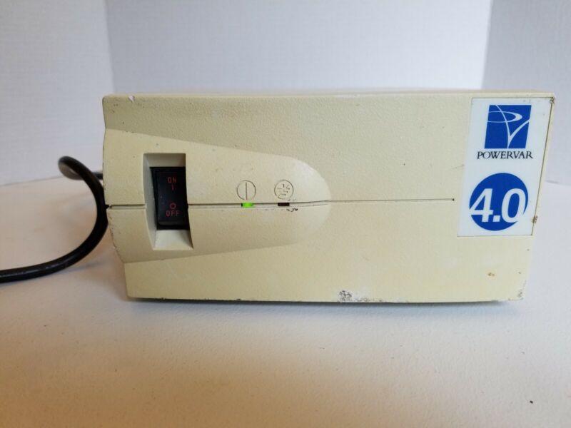 Powervar Power Conditioner Power Supply 4.0 ABC400-11, 120VAC, 4.30A, @60HZ