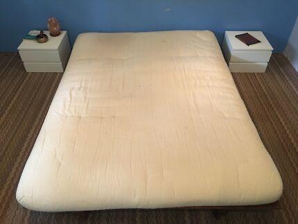 Brilliant Futon Bed And Mattress