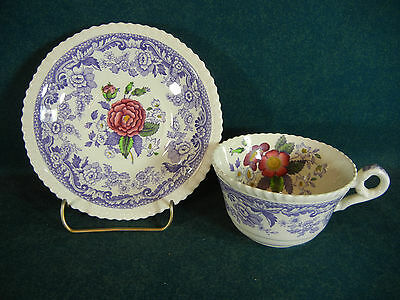 Copeland Spode Mayflower Cup and Saucer Set(s)