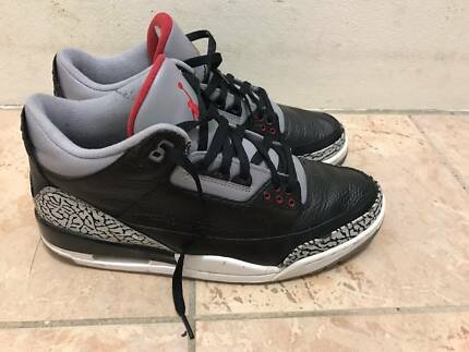 Jordan 3 retro black cement - US11 EU45
