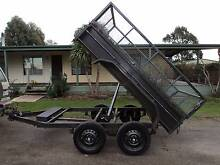 8 x 5 TANDEM TIPPING TRAILER WITH CAGE Kyneton Macedon Ranges Preview