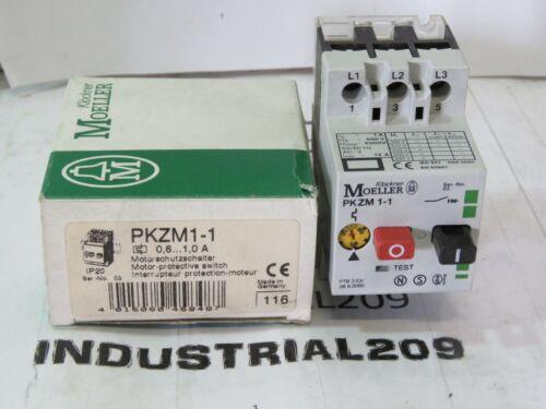 KLOCKNER MOELLER PKZM1-1 MOTOR PROTECTIVE SWITCH NEW IN BOX