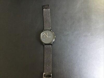 SKAGEN Hybrid Smartwatch - Hagen Black Steel-Mesh SKT1109