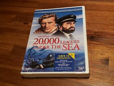 20,000 LEAGUES UNDER THE SEA New Sealed DVD 1954 Disney GENUINE AUTHENTIC