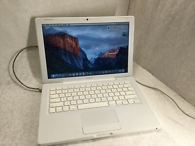 Apple Macbook A1181 2.0GHZ (EARLY 2009) - OSX 10.11 - 120GB - 3GB - TESTED