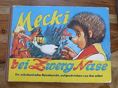 Mecki bei Zwerg Nase (Hammerich & Lesser 1963) = Band 12 Wilhelm Petersen