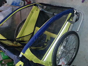 Jogger and trailer 2 seater