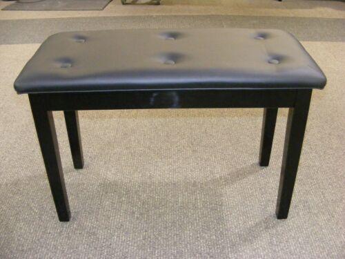 Brand NEW Ebony Padded Piano Bench