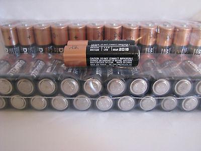 50 AA Alkaline Duracell Batteries 1.5V Bulk Battery Lot WHOLESALE