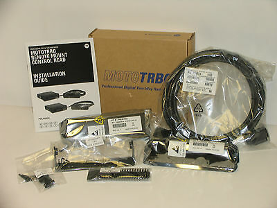 Motorola Mototrbo Remote Mount Adapter Kit Pmln6404a 3m Remote Cable Pmkn4143a