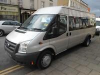 2010 '10' Ford TRANSIT 115 T430 17 SEAT MINI BUS RWD- Low mileage