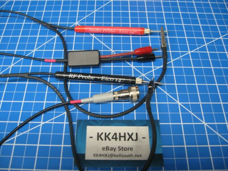Custom RF & Audio Probe Set for Eico 147/147A & 145A Signal Tracer - Assembled