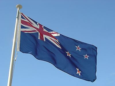 Rugby World Cup Giant New Zealand NZ Kiwi Flag