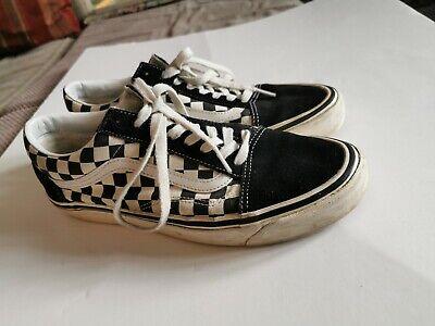 vans chequered skateboard skater Style uk  Size 9.5